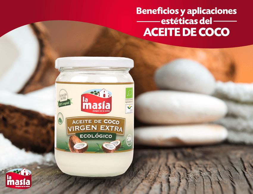 Usos y beneficios del aceite de coco organico